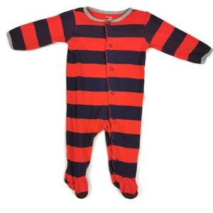 🔥10/$20 Striped Footed Sleeper 6m